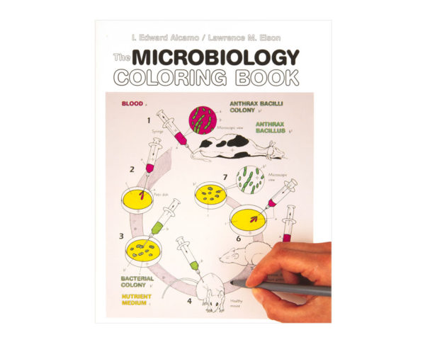 Coloring Concepts Microbiology Coloring Book